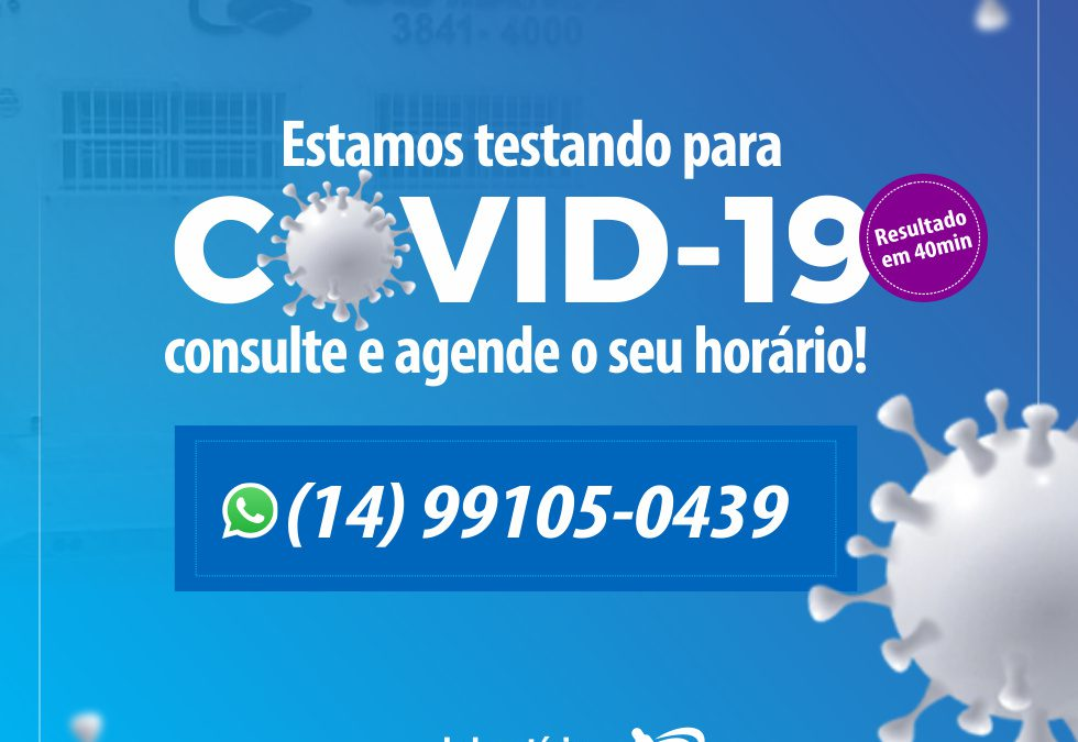 Teste para Covid-19